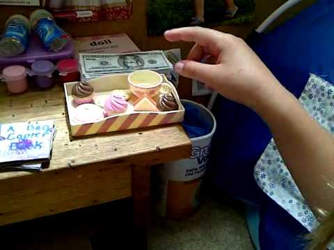 Homemade american girl doll crafts youtube for How to make homemade items
