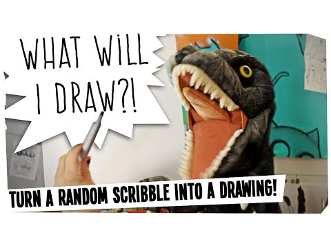 Scribbles the puppet | WHAT WILL I DRAW?! #10