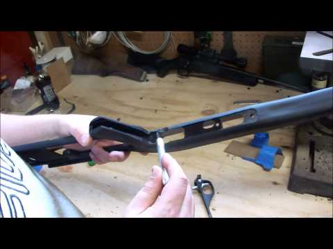 Installing the ATI Fiberforce stock on Marlin models 70PSS, 70P, or 795