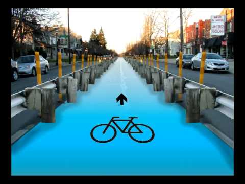 Columbus Cycling Corridor: Student proposal, City Planning Innovations, Autumn 2009