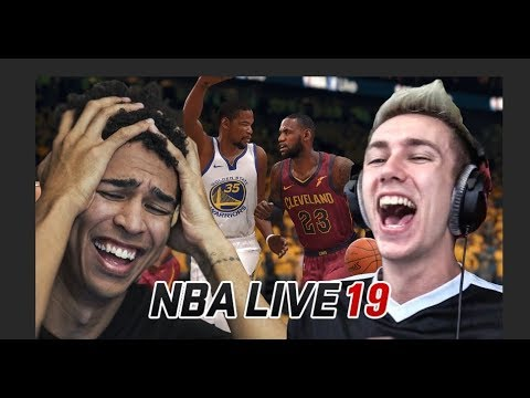 KEVIN DURANT IS A UNSTOPPABLE! vs. Miniminter *NEW* NBA Live 19 Gameplay