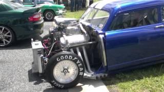 1951 Henry J Drag Car Starting