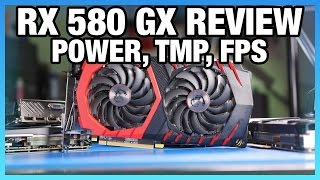 MSI RX 580 Gaming X Review vs. GTX 1060: FPS, Power, Thermals
