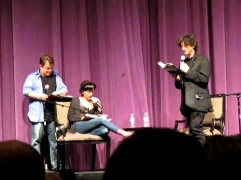 Neil Gaiman With Patton Oswalt & Zelda Williams