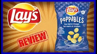 "♥""New"" Lay's Poppables Sea Salt & Vinegar 