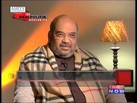 The Real Politik with Amit Shah