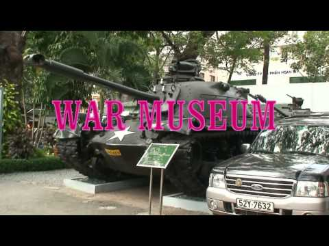 VIETNAM TODAY part 2 (HCMCity-Cathedral-Post Office-War Museum-MEKONG)