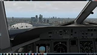 X-Plane 11: FlyJSim Dash8-Q400: London City to Southampton