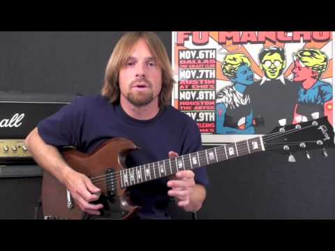 Soloing Joe Walsh and Angus Young style. PlayThisRiff.com