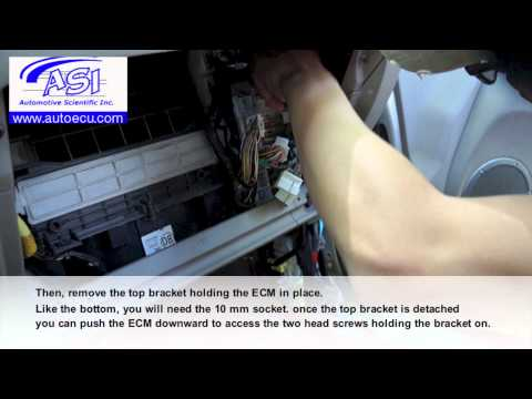 How to Replace ECM for Toyota RAV4-Auto ECU