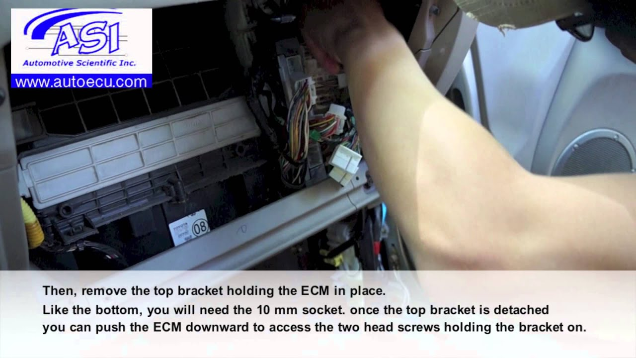 How To Replace Ecm For Toyota Rav4 Auto Ecu Youtube