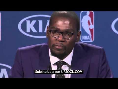 NBA - El emotivo discurso de Kevin Durant: