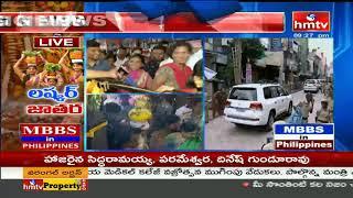 Huge Rush Continues At Ujjaini Mahankali Temple At Secunderabad || Bonalu 2019 | hmtv