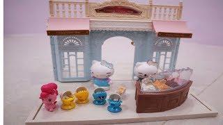 Unboxing Mainan Anak | Zalfa Belajar Bercerita Hello Kitty Jualan Es Krim