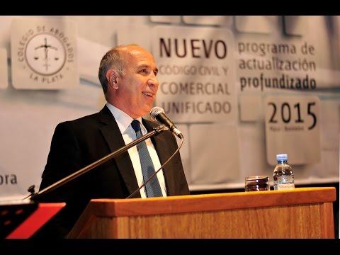 Lorenzetti disertó en el Colegio de Abogados de La Plata sobre el Código Civil y Comercial