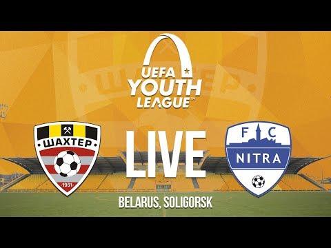 UEFA Youth League. FC Shakhtyor Soligorsk - FC Nitra