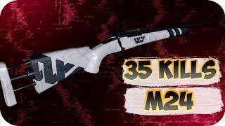 35 KILLS WITH M24. BEST PUBG / PLAYERUNKNOWN'S BATTLEGROUNDS WTF