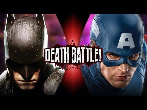 Batman VS Captain America | DEATH BATTLE! | ScrewAttack