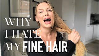 Fine Hair Problems: The Naked Truth About Why I Hate My Hair! (+ Before/After Pics)