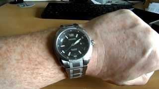 Citizen Mens Watch Super Titanium BM6900 58E Review and Unboxing