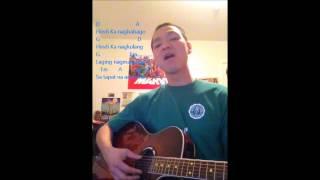 Sa oras ng problema - Guitar chords wtih lyrics - cover by: Alex Ello