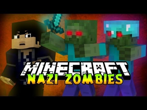 Minecraft   COD NAZI ZOMBIE   Zombie Apocalypse Server!