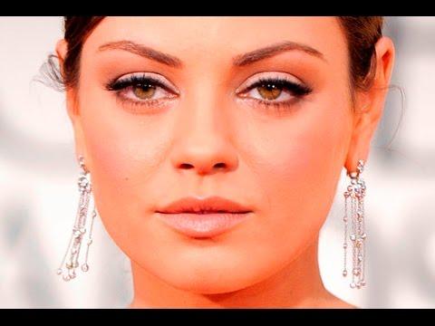 Мила кунис макияж глаз