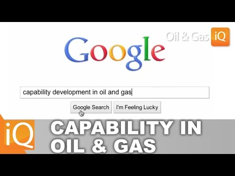 Capability Development Online - Strategies for Global Oil and Gas [Oil & Gas IQ]