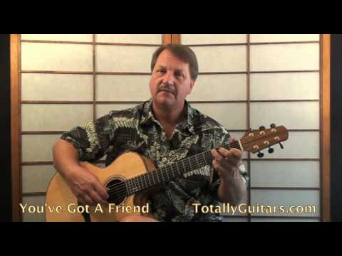 James Taylor - You've Got A Friend Acoustic Guitar lesson