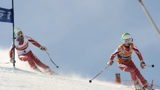 Downhill 2 (women's visually impaired) - 2013 IPC Alpine Skiing World Cup Finals Sochi