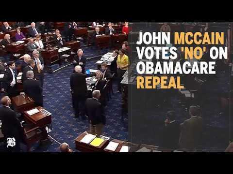 John McCain killed the GOP's health-care fight overnight
