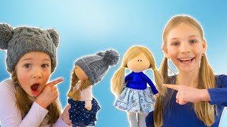 Amelia, Avelina and Akim magic doll adventure and Amelia's morning routine.