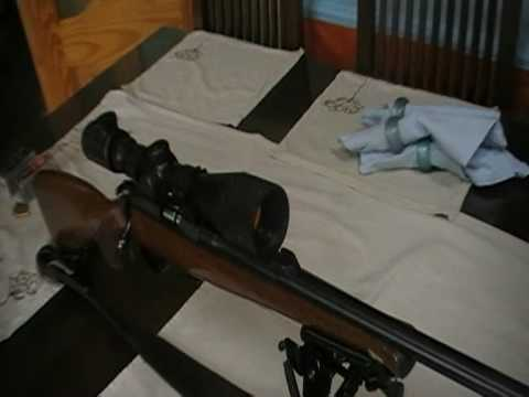 cz 452 22 rifle. wmr. magnum. rimfire rifle.