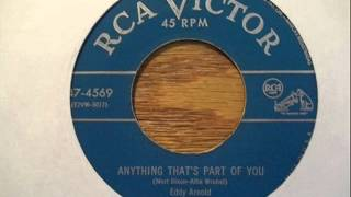 Video Anything That's Part Of You Eddy Arnold