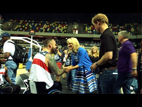 At the Invictus Games with Dr. Jill Biden & The U.S. Team