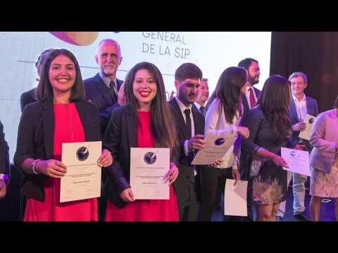 Imágenes de la entrega de los Premios SIP 2018 en el Teatro Municipal de Salta, Argentina
