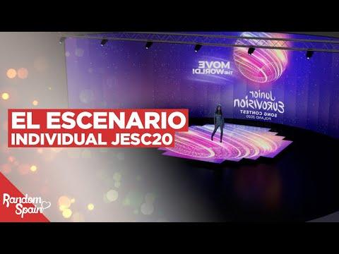 El Escenario individual de Eurovision Junior 2020