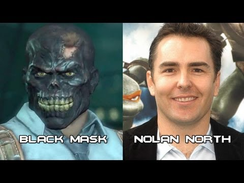 Characters and Voice Actors - Batman: Arkham City