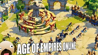 Defense of Crete 10 Wave Madness - Age of Empires Online Project Celeste