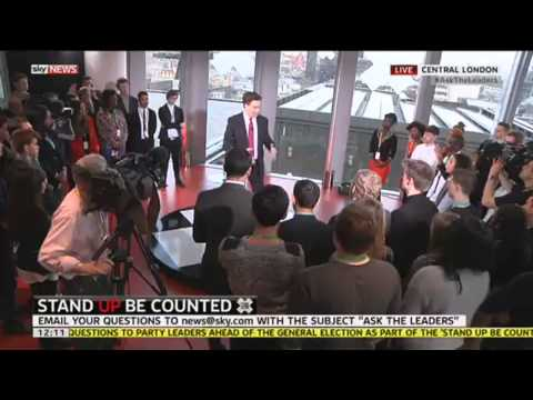 #AskTheLeaders - Ed Miliband On Tax