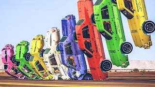BeamNG Drive BEST CRASHES - 80,000 Subscriber Special