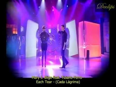 Tiziano Ferro feat. Mary J. Blige - Each Tear (Legenda-BR)