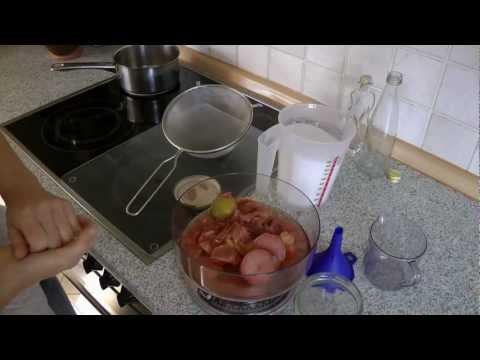 Rosensirup - Geschenke Selber Machen -  Dietlinds Kräuter Küche