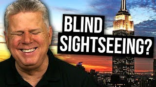 How Blind People Travel (Airplane, Train, Hotel, Sightseeing)