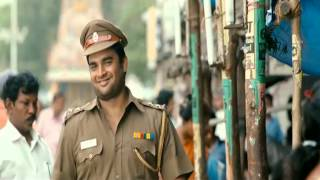 Vettai - Tamil movie Vettai Comedy Scene -  Maddy's first day in public after wearing his police uniform