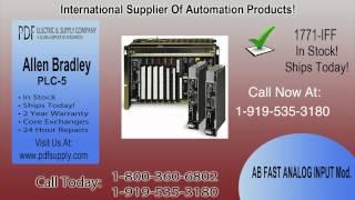 1771-IFF   Allen Bradley PLC-5   In Stock! Call 800.360.6802