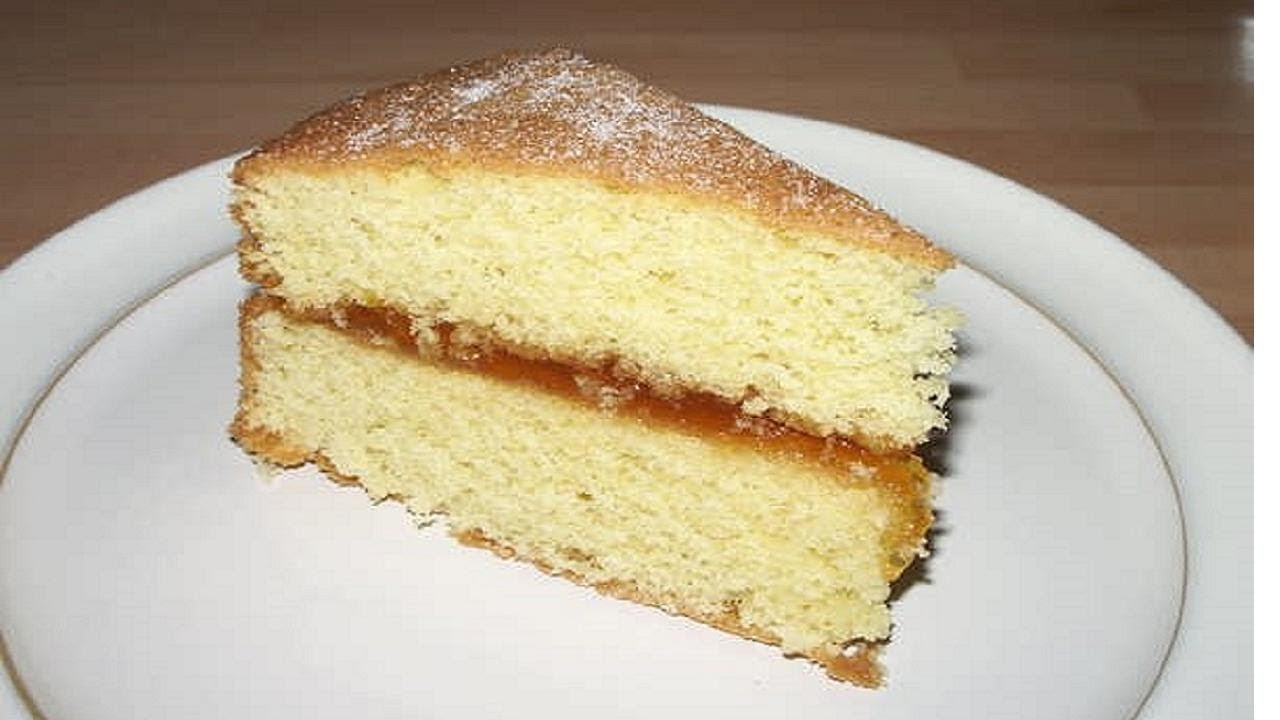 Vanilla Cake Without Milk Or Eggs