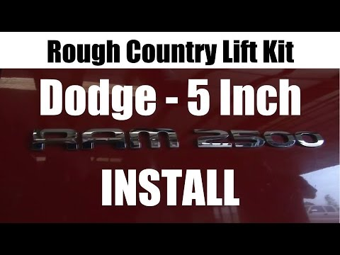 Rough Country Dodge Ram Lift Kit Installation - Tutorial and Review - SD Truck Springs