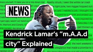 "Looking Back At Kendrick Lamar's ""m.A.A.d city"" 
