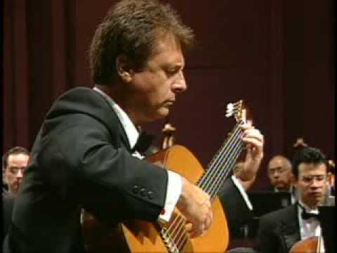Angel Romero plays third movement,Concierto Antillano by Ernesto Cordero